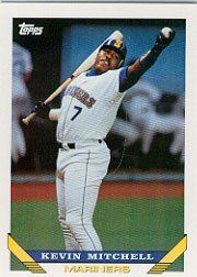 1993 Topps 217 Kevin Mitchell
