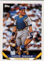 1993 Topps 370 Dave Valle