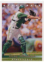 1993 Upper Deck #278 Terry Steinbach