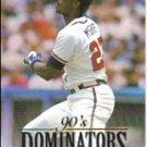 1994 Donruss Dominators #A3 Fred McGriff