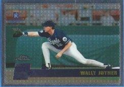 1996 Topps Chrome #155 Wally Joyner