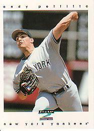 1997 Score 82 Andy Pettitte