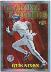 1997 Topps Season's Best #SB23 Otis Nixon