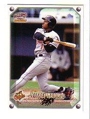 1998 Pacific Invincible Gems of the Diamond #11 Jeffrey Hammonds
