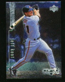 1999 Black Diamond #75 Jeff Kent