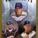 1999 Topps 208 Michael Barrett/Ben Davis/Robert Fick