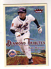 2005 Fleer Tradition Diamond Tributes #25 Kaz Matsui
