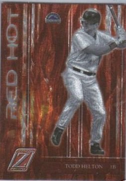 2005 Zenith Red Hot #9 Todd Helton