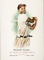 2007 Topps Allen and Ginter #162 Stanley Glenn