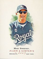 2007 Topps Allen and Ginter #81 Mike Sweeney