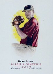 2007 Topps Allen and Ginter #83 Brad Lidge