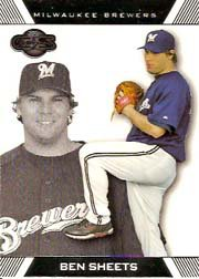 2007 Topps Co-Signers #8 Ben Sheets
