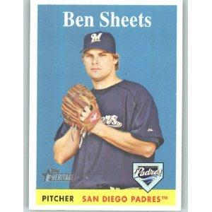 2007 Topps Heritage #298 Ben Sheets