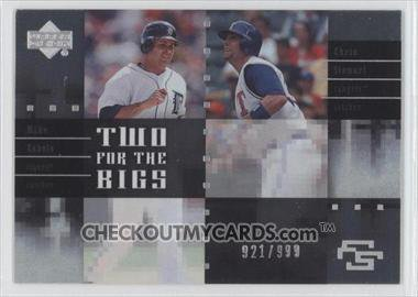 2007 Upper Deck Future Stars Two for the Bigs #RS Mike Rabelo/Chris Stewart