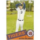 2008 Topps Trading Card History #TCH32 Justin Verlander