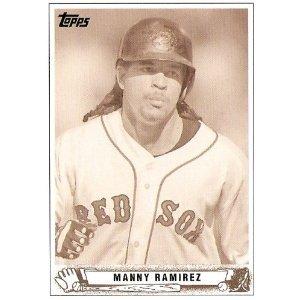 2008 Topps Trading Card History #TCH33 Manny Ramirez