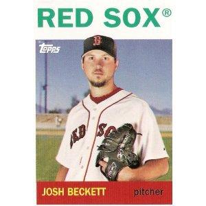 2008 Topps Trading Card History #TCH36 Josh Beckett