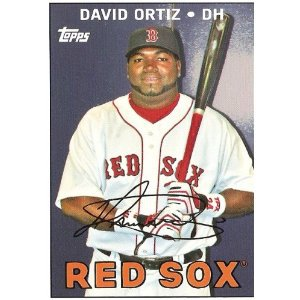 2008 Topps Trading Card History #TCH42 David Ortiz