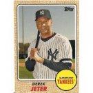 2008 Topps Trading Card History #TCH50 Derek Jeter