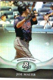 2011 Bowman Platinum #49 Joe Mauer