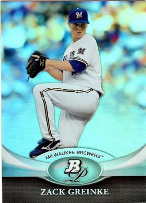 2011 Bowman Platinum #70 Zack Greinke