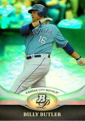 2011 Bowman Platinum #80 Billy Butler