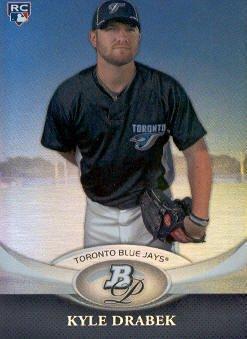 2011 Bowman Platinum #95 Kyle Drabek RC