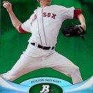 2011 Bowman Platinum Emerald #40 Clay Buchholz