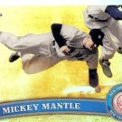 2011 Topps Chrome Refractors #7 Mickey Mantle