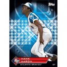 2011 Topps Prime 9 Player of the Week Refractors #PNR6 Hank Aaron