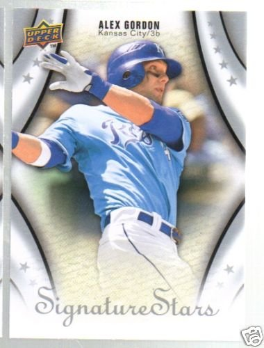 2009 Upper Deck Signature Stars #9 Alex Gordon