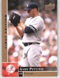 2009 Upper Deck First Edition #211 Andy Pettitte