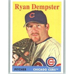 2007 Topps Heritage #198 Ryan Dempster