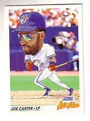 1992 Score #435 Joe Carter AS