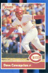 1988 Donruss 329 Dave Concepcion