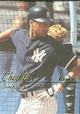 1997 Fleer #739 Derek Jeter CL