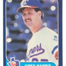 1986 Fleer #561 Greg Harris