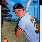 1986 Topps 41 Brad Wellman