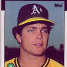 1986 Topps 84 Curt Young