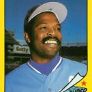 1986 Woolworth's Topps #22 Hal McRae