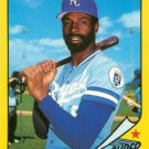 1986 Woolworth's Topps #32 Willie Wilson