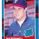 1988 Donruss 47 Jack McDowell RR RC
