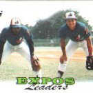 1988 Topps 111 Hubie Brooks/Vance Law TL