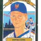 1989 Donruss 9 David Cone DK UER/('hurdlers')