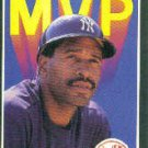 1989 Donruss Bonus MVP's BC11 Dave Winfield