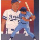 1989 Upper Deck 689 George Brett TC