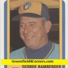 1990 Swell Baseball Greats #23 George Bamberger