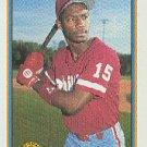 1991 Bowman 491 Jeff Jackson