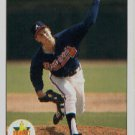 1990 Upper Deck 65 Steve Avery UER/(Born NJ, should be MI,/Merker