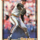 1991 Topps 479 Bob Patterson UER/(Has a decimal point/between 7 and 9)